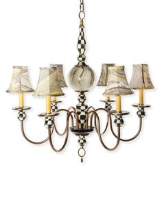 Courtly+Palazzo+6-Light+Chandelier+by+MacKenzie-Childs+at+Horchow.