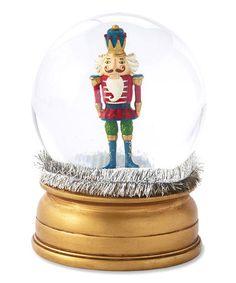 Love this Nutcracker Snow Globe on #zulily! #zulilyfinds
