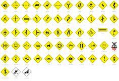 Señales de tránsito preventivas o prevención