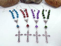 Car Rosary Travel Rosary Auto Rosary Rearview Mirror Secret