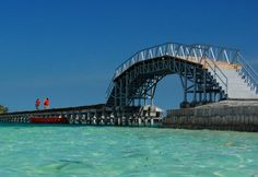 This is Bridge of Love in Pulau Tidung, Indonesia. Take your Lover to enjoy Sun sets in that bridge. See You there :)