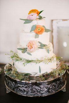 Vintage Oklahoma Wedding Cake   Wedding & Party Ideas   100 Layer Cake
