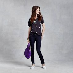 I adore this shirt for the weekend. Stars T-Shirt on #zady. #style #fashion #sundry #gofg