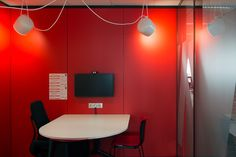 Small meeting rooms/concentration rooms