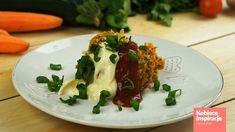 Babeczki warzywne z piekarnika - FIT OBIAD Kobieceinspiracje.pl Mashed Potatoes, Beef, Fit, Ethnic Recipes, Ox, Shredded Potatoes, Steak