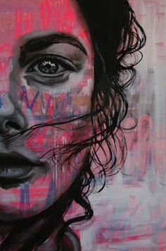Ideas Street Art Portraits Faces For 2019 Portraits, Portrait Art, Art Photography Women, Street Art Photography, Art Alevel, Abstract Face Art, Art Sketchbook, Public Art, Graffiti Art