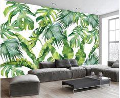 Home Wallpaper, Custom Wallpaper, Wallpaper Murals, 3d Wall Murals, Wall Art, Tropical Wallpaper, Open Wall, Cleaning Walls, 3d Home