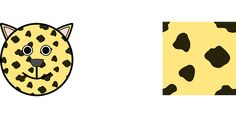 cat, leopard, animal, face, smiley