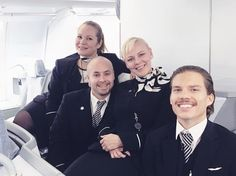 No matter if you spend 10 hrs in a plane when you have great colleagues with you  Just landed to Helsinki from Miami - still smiling! . . . . . #finnair #feelfinnair #A330 #flightattendant #flightattendantlife #aviation #airbus #avgeek #plane #aviationpictures #flyinghigh #aviationphotography #aviationdaily #flightattendantsday #flightattendantsworld #finnaircrew #crewlife
