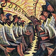 Cyril Edward Powell - 1934 - The Tube Train