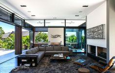 Ecksofa Design Einrichtung retro Stil Lederstuhl Möbel