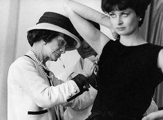 Originator of The Little Black Dress - Coco Chanel