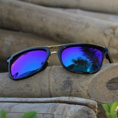 Unisex Full Rim Oval Matte Sunglasses