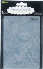 * Darice Embossing Folder ~ Large Petal ~ Background A2 Petals Flowers 1215-70