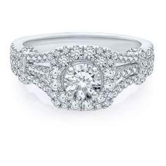 Helzberg Diamond Symphonies® 1 1/5 ct. tw. Engagement Ring in 14K Gold - Engagement Rings - Rings - Jewelry - Categories - Helzberg Diamonds
