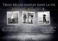 3 règles simples