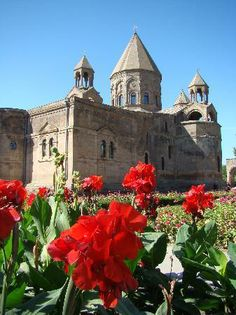 Cathedral and Churches of Echmiatsin and the Archaeological Site of Zvartnots - Armenia. UNESCO World Heritage site.