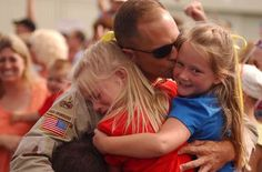 I'm sure there is no greater feeling than a military homecoming. I could cry at how grateful I am for their service.
