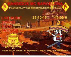 FORO DESGUACE - Bandidos MC Barcelona 4º Anniversary and Memory Run Bandido…