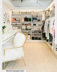Fab walk-in closet/vanity. Practical without being ludicrously huge and OOTT. Fab walk-in closet/vanity. Practical without being ludicrously huge and OOTT. Closet Office, Closet Bedroom, Closet Space, Master Closet, Bedroom Kids, Master Bedrooms, Diy Bedroom, Ikea Closet, White Bedrooms