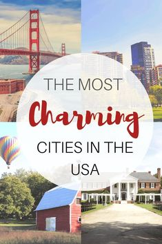 America is full of romantic and charming towns both big and small. For travelers looking for a destination perfect for an anniversary trip, honeymoon spot or just a place to help reconnect, here are 31 recommendations of charming towns in the USA from travel bloggers for a romantic vacation.