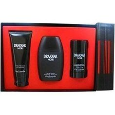 Guy Laroche - Gift Set -- 3.4 oz Eau De Toilette Spray + 3.4 oz After Shave Balm + 2.5 oz Deodorant Stick by Guy Laroche. $41.37. Launched by the design house of Guy Laroche in 1982, DRAKKAR NOIR is classified as a sharp, spicy, lavender, amber fragrance. This masculine scent possesses a blend of lavender, citrus, spicy berries and sandalwood.For Men. Save 35% Off!