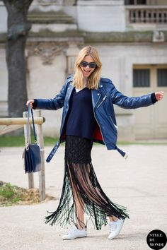 fab fringe. Pernille in Paris. #LookDePernille