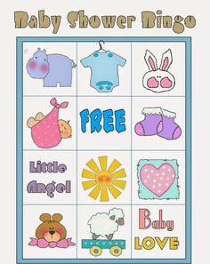 bingo para baby shower pdf