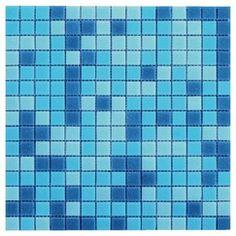 mosaique sur filet atlantic bleue magasin de bricolage brico dpt de tours st cyr - Lino Salle De Bain Brico Depot