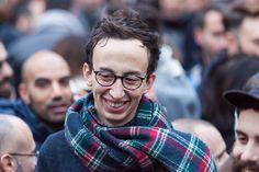 Rome, Italy - 23 January 2016: Svegliatitalia, demonstration in Piazza della Rotonda in favor of the - Rome, Italy - 23 January 2016: Svegliatitalia, demonstration in Piazza della Rotonda in favor of the civil rights of homosexual couples. In the scene a protester.