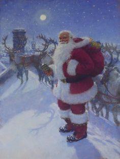 Twas the Night Before Christmas (England) By Christian Birmingham ...