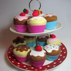 Felt Cupcake £3.50