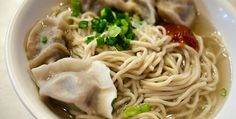 Noodle dumplings