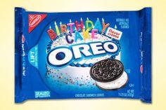 Birthday Cake Oreos YES PLEASE.