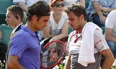 Stan Wawrinka plays Roger Federer at his own game before US Open semi-final | Sport | The Guardian