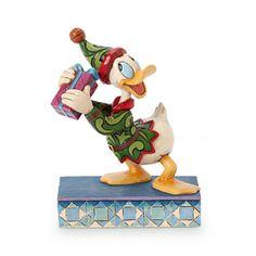 Disney Store Donald Duck ''Santa's Curious Helper'' Figure by Jim Shore