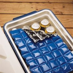 Ice Mat-Set of 2: great idea keep cans cold