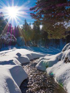 Winter Time in Eagle Ridge is beautiful!