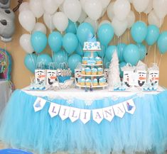 Frozen Party- 5th Birthday Birthday Party Ideas | Photo 2 of 16 | Catch My Party