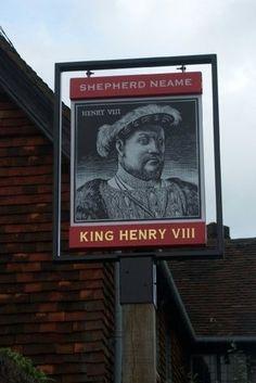 The King Henry VIII Inn in the town of Hever