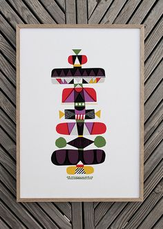Toteemi by Sanna Annukka-view all prints!