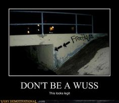 DONT BE A WUSS, this looks legit.