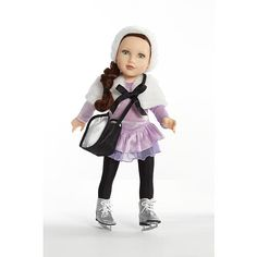 """Journey Girls 18"""" Doll Fashion Pack - Ice Skating - Toys R Us - Toys """"R"""" Us"""