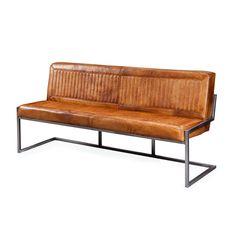 Brooks zitbank | Buffel Leder | Miltonhouse Voordelig meubelshoppen