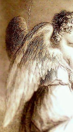 "rosebiar: "" (via Pin by greywren on art-illustration Angels Among Us, Angels And Demons, Angel Guide, I Believe In Angels, Ange Demon, Angels In Heaven, Heavenly Angels, Guardian Angels, Angel Art"