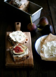 Brown Bread & Fig   higuccini.com