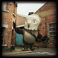 The Owl & the Steelworks © Finger Industries 2013