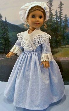 AG doll gown