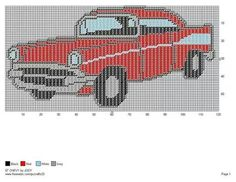 '57 Chevy Wall Hanging