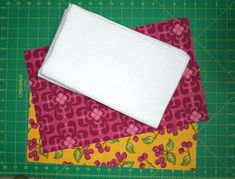 A-Part One:  Making the fabric-edged towel
